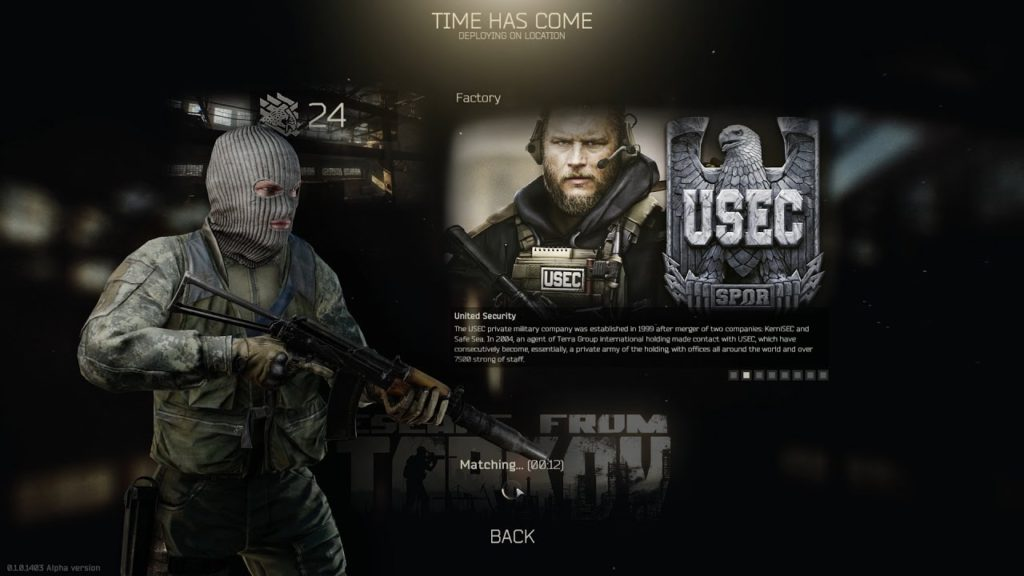 thoughts for escape from tarkov