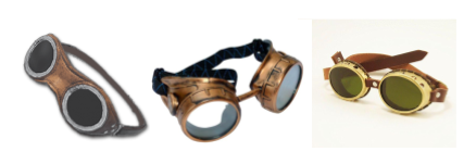 pubg steampunk glasses costume