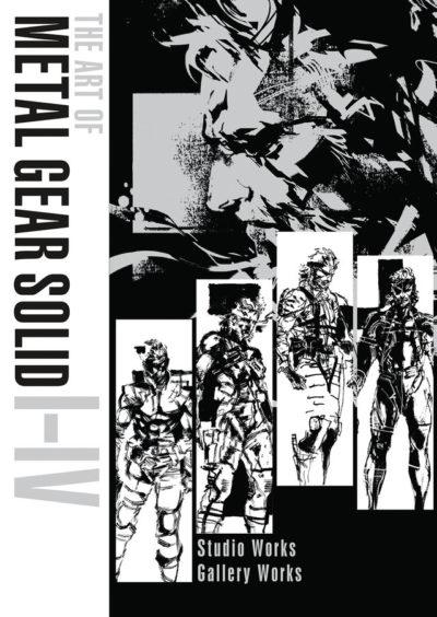 metal gear solid art book