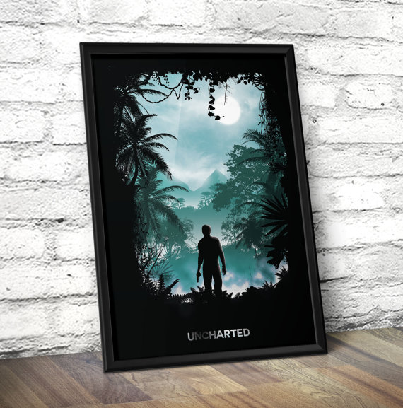 nathan drake poster