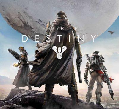 video game art book for destiny