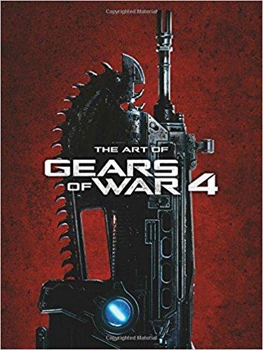 gears of war 4 art book