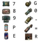 pubg hotkeys chart