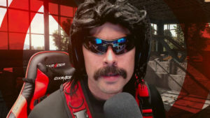 dr disrespect gaming setup